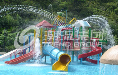 Water Park Project /  Kids' Water Playground Durable Big Customized Water Slide