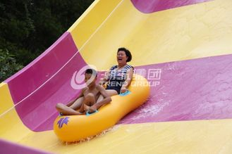 China Riesige Aqua-Park-Ausrüstungs-aufregende Swimmingpool-Fiberglas Waterslides fournisseur